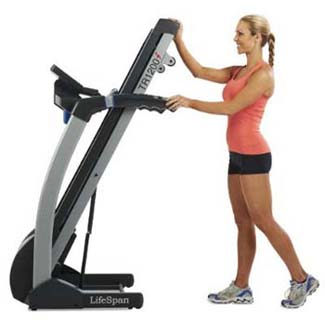 lifespan-tr-1200i-folding-treadmill-being-folded-up